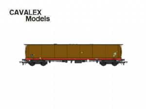 Cavalex 'TEA' Bogie Tanker: Grey Livery, Weathered (Single) [NOT YET RELEASED]